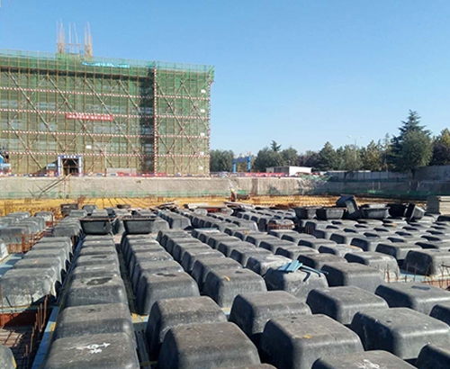 建筑模壳安装